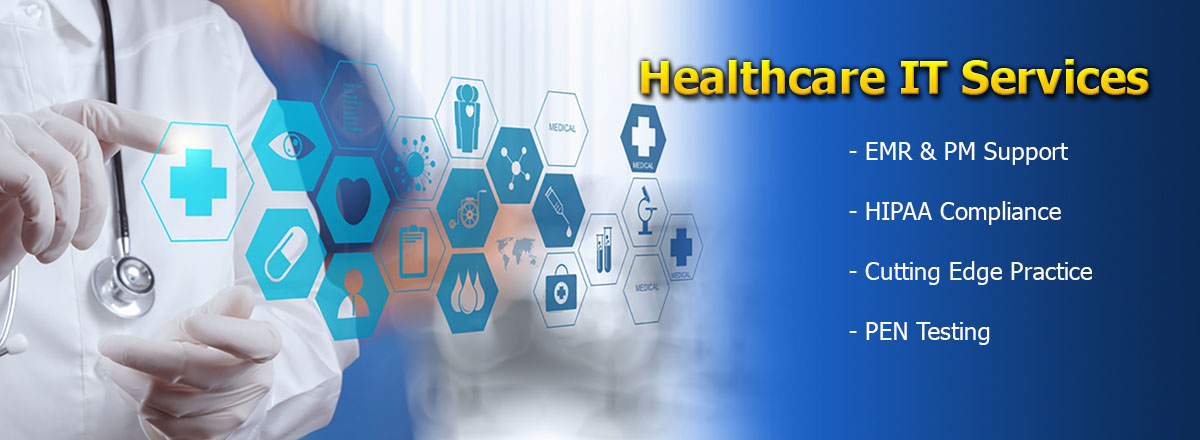 healthcare it services banner